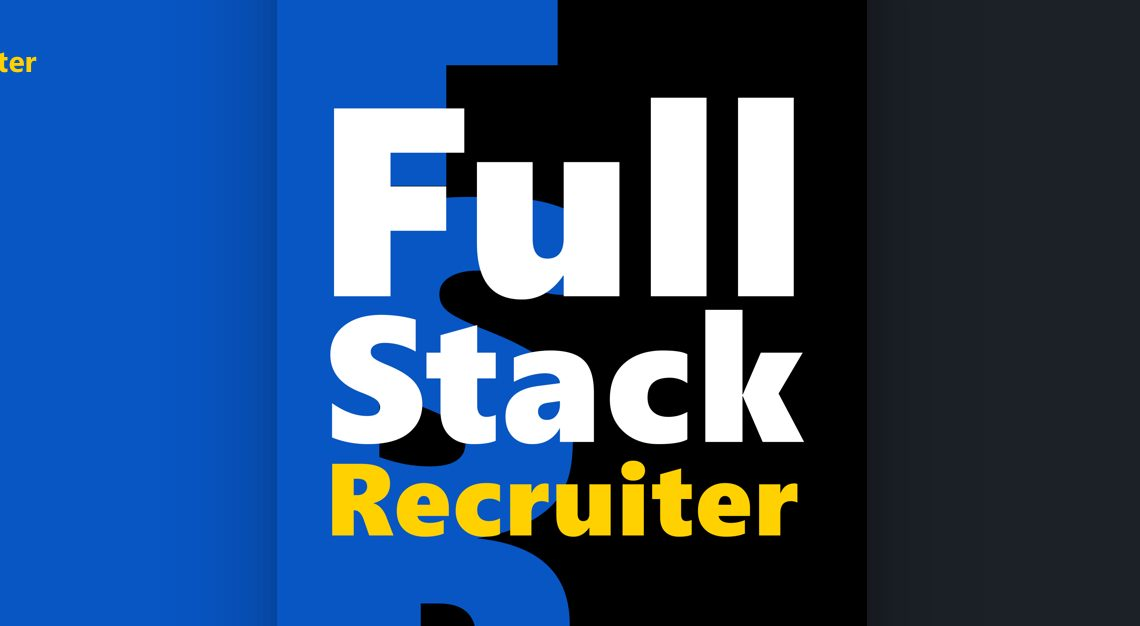 My first book – Full Stack Recruiter